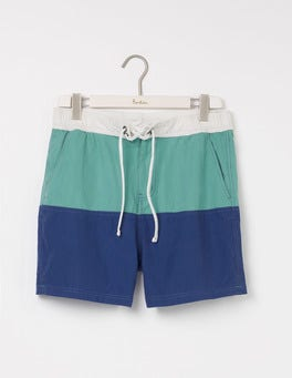 Minty Green/Royal Marine Summer Swimshorts