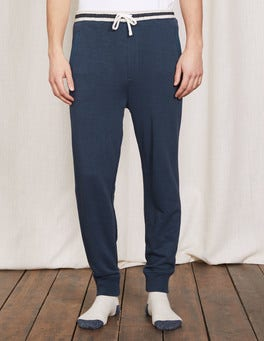 Bright Navy Off-Duty Joggers