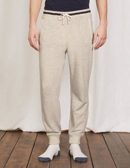 Pale Grey Marl Off-Duty Joggers