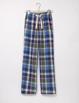 Rosemary Check Cotton Poplin Pull-ons