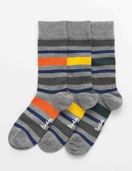 Wide Stripe Favourite Socks