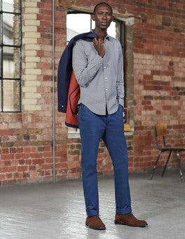 Bright Navy Slim Leg Chinos