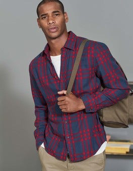 Winterberry Check Double Cloth Shirt