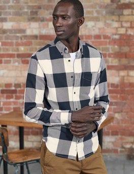 Ivory Gingham Chilton Twill Shirt