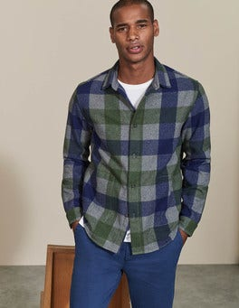 Grey Multi Gingham Ingleton Overshirt