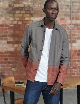 Engineered Stripe Ingleton Overshirt