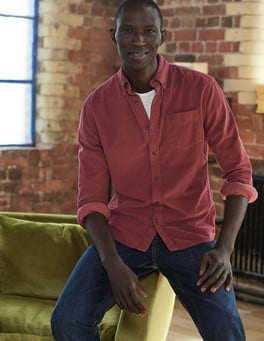 Garment Dye Cord Shirt