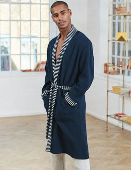 Reversible Piqué Dressing Gown