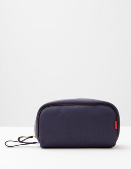 Navy Chapman Wash Bag