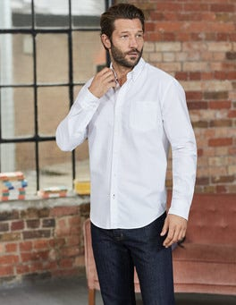 White Classic Oxford Shirt
