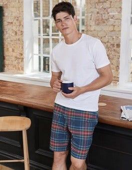 Brushed Cotton Lounge Shorts
