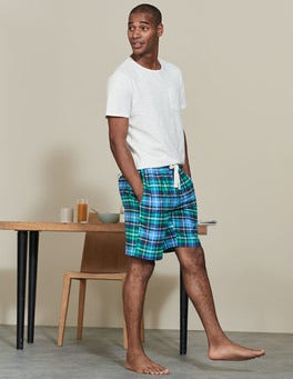 Brushed Cotton Lounge Shorts