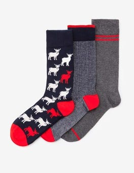Mix Pack Festive Socks