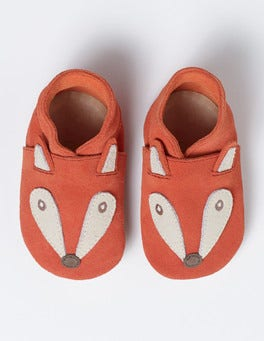 Crayon Red Baby Fox Shoes