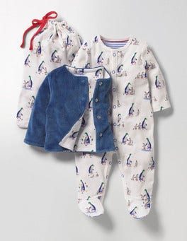 Multi Mr Mallard Mr Mallard Sleepsuit & Jacket