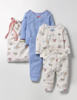 Multi Riverside Ducks Cosy Pointelle Pack