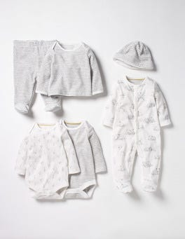 Ivory Lambs New Baby Gift Set