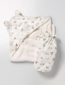 Multi Riverside Ducks Pretty Supersoft Hooded Towel