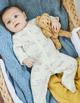 Lambs Supersoft Sleepsuit