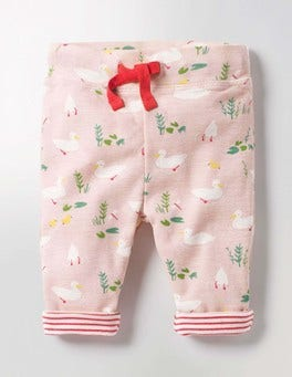 Milkshake Pink Ducks Supersoft Reversible Pants
