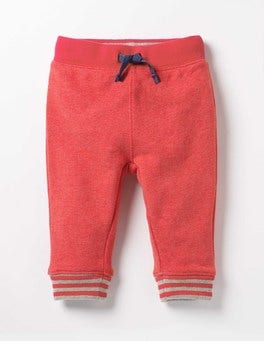 Crayon Red Marl Essential Jersey Trousers