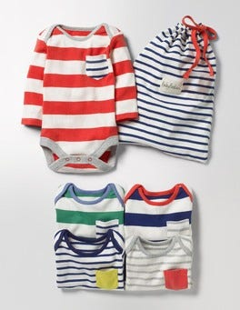 Multi Stripe Pack 5 Pack Fun Bodies