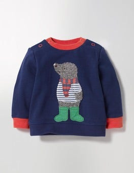 Beacon Blue/Mole Cosy Sweatshirt