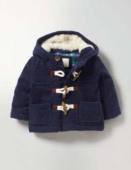 Navy Cord Duffle Coat