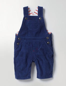 Beacon Blue Classic Cord Dungarees