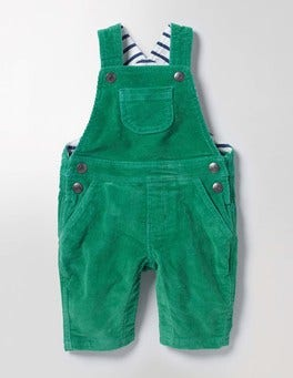Greenhouse Green Classic Cord Dungarees