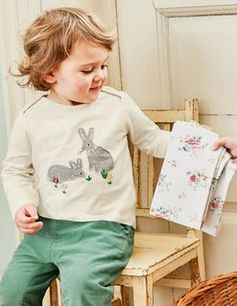 Woodland Appliqué T-shirt