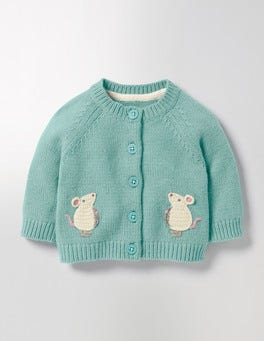 Pool Blue Mice Fun Cardigan