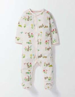 Bunnies Super Soft Sleepsuit