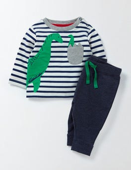 Ivory/Beacon Stripe/Nessie Nessie Pocket Play Set