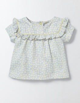 Bluebell Poppy Ditsy Pretty Printed T-shirt
