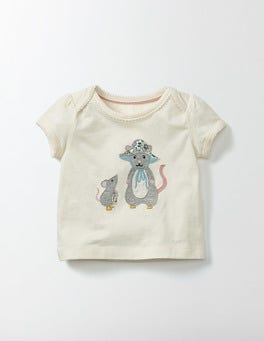 Ecru Animal Friends T-shirt