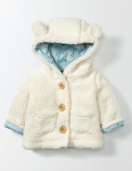 Vanilla Pod Farmyard Teddy Jacket
