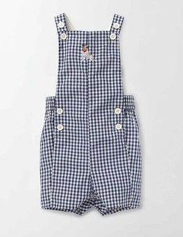 Beacon Gingham Check Dungarees