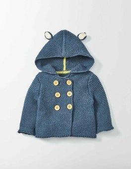 Indigo Marl Indigo Knitted Jacket