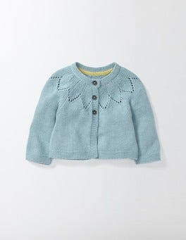Mineral Blue Marl Cosy Cardigan