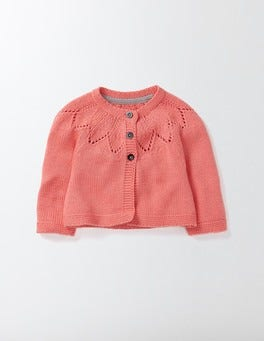 Peach Sorbet Cosy Cardigan