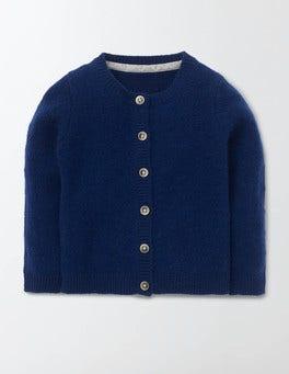 Soft Navy Baby Cashmere Cardigan