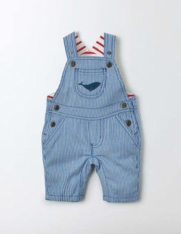 Duke Stripe Seaside Appliqué Dungarees