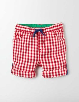Red Admiral Gingham Roll-up Pants