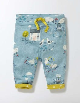 Mineral Blue Spring Farm Supersoft Reversible Trousers