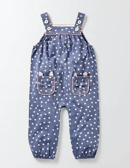 English China Confetti Spot Fun Dungarees