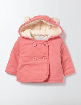 Peach Sorbet Cosy Cord Jacket