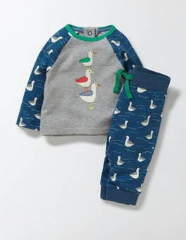 Stern Blue/Seagull Coastal Jersey Play Set