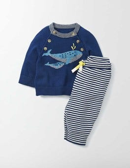 Beacon Whale Knitted Play Set