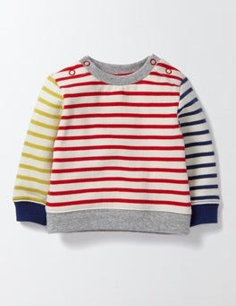 Hotchpotch Stripe Fun Sweatshirt
